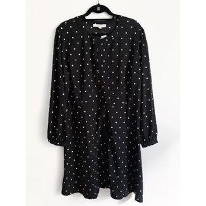 Loft Polka-Dot Shirt Dress (NWT)